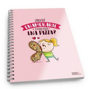 Cuadernos con frases